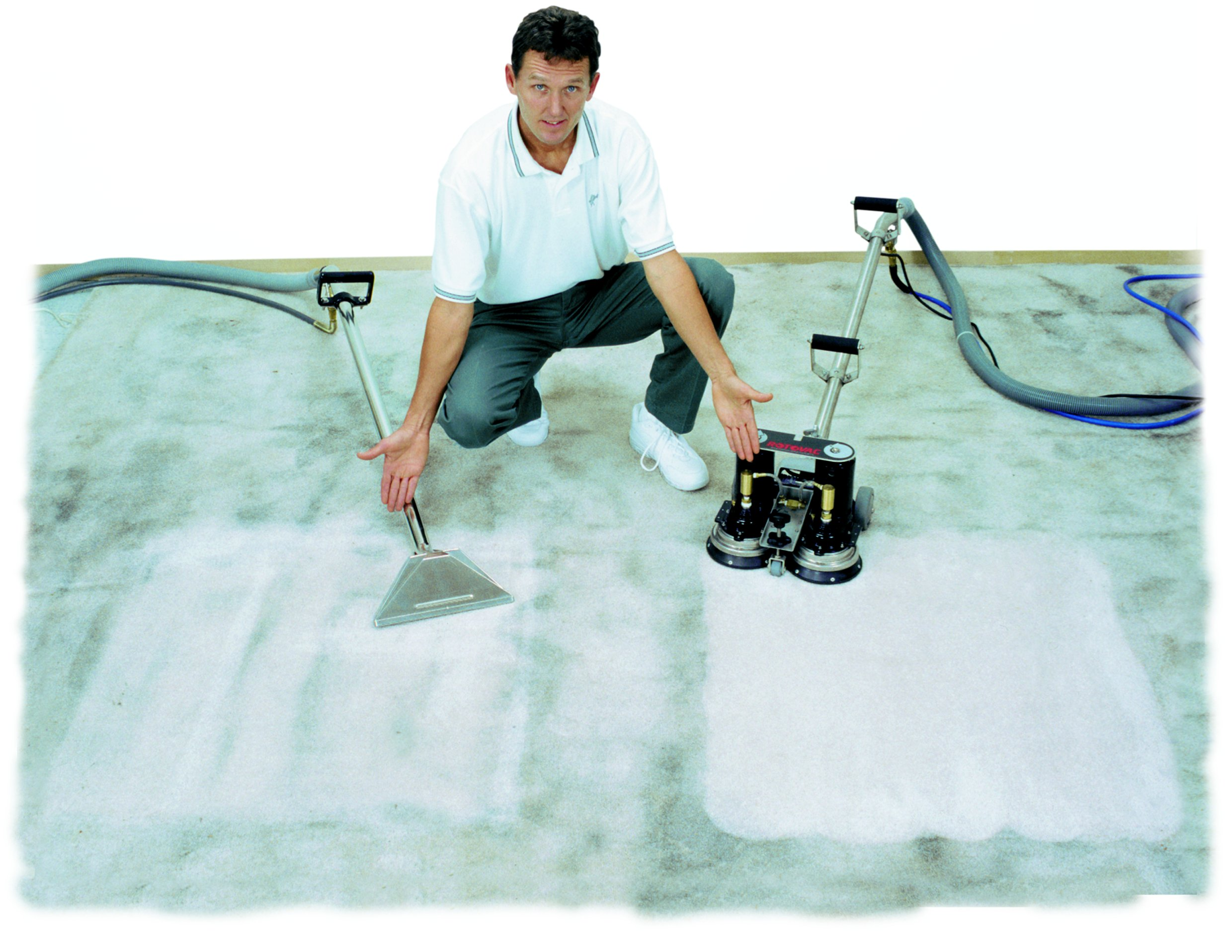 how to dry clean carpet yourself